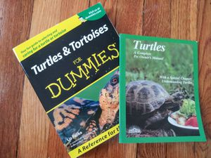 Turtles and Tortoises for Dummies for Sale in Quincy, MA