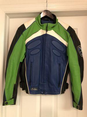AXO AVO2 RacingProof Leather Jacket - MED - KAWASAKI for Sale in Belle Isle, FL