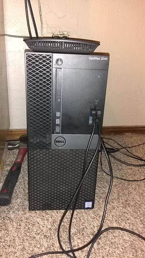 Dell OptiPlex 3040 - Core i5 6500 3.2 GHz - 8 GB - 1 TB for Sale in Lawton, OK