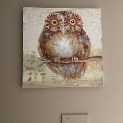 "Large Owl Picture 31"" By 31"" for Sale in Cleveland,  OH"