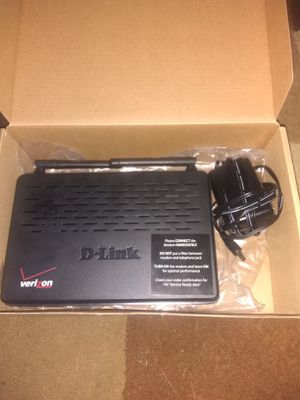 D-Link DSL-2750B IEEE 802.11n ADSL2+ Modem/Wireless Router for Sale in St. Petersburg, FL