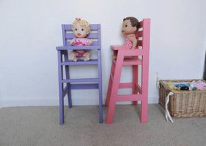 Doll High chair, American Girl Size Dolls for Sale in Salt Lake City, UT