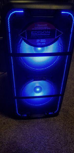 Edison -Speaker recargable bluetooth for Sale in Runnemede, NJ