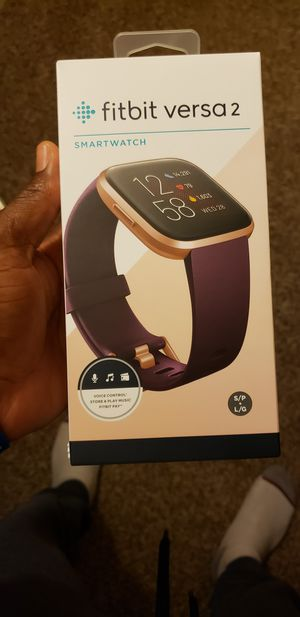 FITBIT VERSA 2 BRAND NEW FACTORY SEALED INSIDE THE BOX MY PRICE IS FIRM THANK YOU. for Sale in Chino, CA