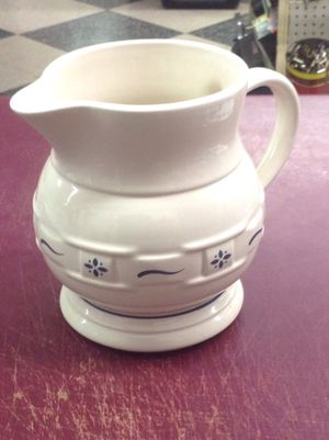 LONGABERGER POTTERY PITCHER - PRICE IS FIRM for Sale in Columbus, OH