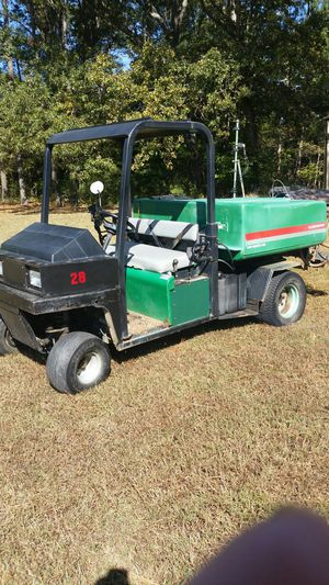 1996 Cushman truckster with 200 gal. Turf master sprayer for Sale in Smithfield, VA