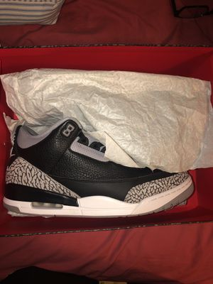"""Jordan 3 """"Cement"""" Size 13 for Sale in Oxon Hill, MD"""