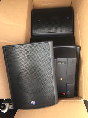 For sale Cerwin vega SAT-4 asking $30 for 4 satellites speakers for Sale in Alexandria, VA