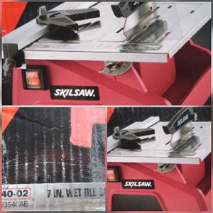 SkilSaw Wet Tile Saw 3550 for Sale in Las Vegas, NV