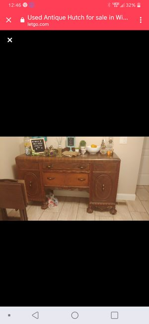 1909 approx. Antique Hutch for Sale in Winston-Salem, NC