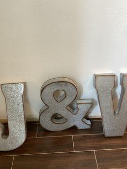 J &V Decor Letters for Sale in Houston,  TX
