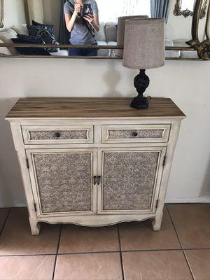 Wayfair pooler antique 2 door accent cabinet for Sale in Commerce, CA