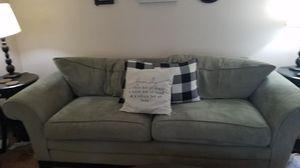 Micro fiber couch,chair & ottoman for Sale in Eatonville, WA