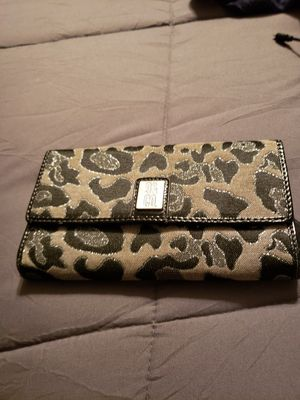 Black/grey glitter leopard wallet for Sale in Antioch, CA