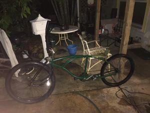 Stretched custom beach cruiser bike for Sale in Cocoa, FL