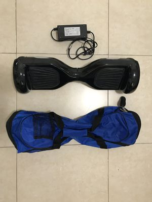 Black Hoverboard with Case for Sale in Miami, FL