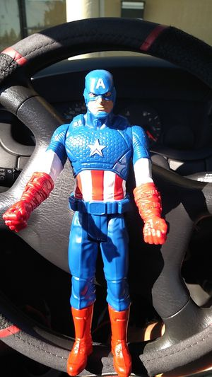 Captain America action figure toy for Sale in Gilroy, CA