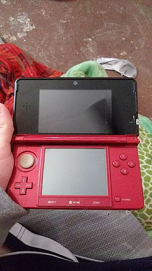 3DS red. Game included no charger or SD card for Sale in Mesquite, TX