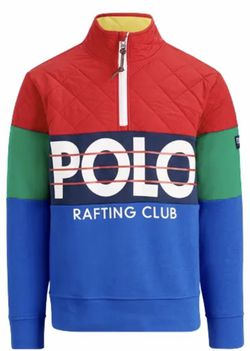 Polo Ralph Lauren Hi Tech Colorblocked Rafting CP 93 Pullover Sweatshirts M New with tags for Sale in French Creek,  WV