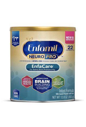 (4) cans Enfamil enfacare, babies born prematurely for Sale in Orlando, FL
