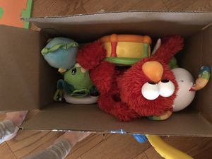 Box of assorted baby/toddler toys for Sale in Laurel, MD