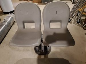 Pontoon boat seats for Sale in Crystal Lake, IL