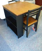 3 piece table and 2 chairs with drop leaf and shelves for Sale in Winchester, VA