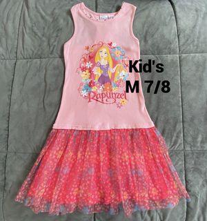 Disney Rapunzel Dress Kid's M 7/8 for Sale in Bellingham, WA