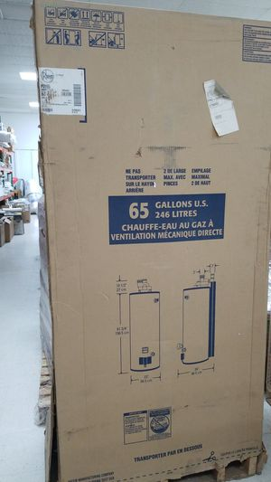 65 gallons water heater natural gas for Sale in Orlando, FL