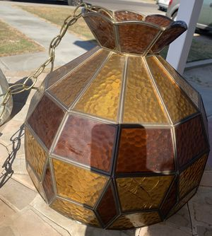 Vintage Stained Glass Lamp for Sale in Selma, CA