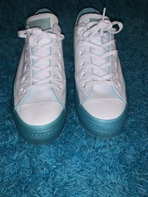 Converses blue and white for Sale in Hobe Sound, FL