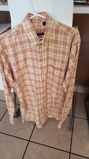 BURBERRY VINTAGE LONG SLEEVE SHIRT for Sale in Santa Ana, CA