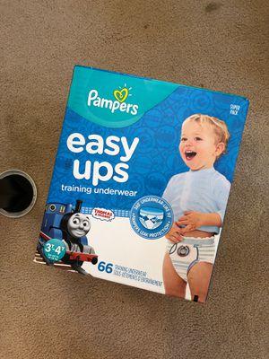 Pampers Easy Ups training underwear 3T-4T for Sale in Ewa Beach, HI