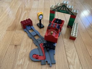 LEGO Duplo James at Knapford Station (missing only head) for Sale in Shrewsbury, MA