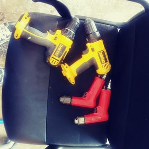 Drills, air drills, battery chargers for Sale in Kansas City, MO