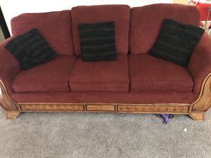 Red couch for Sale in Nashville, TN
