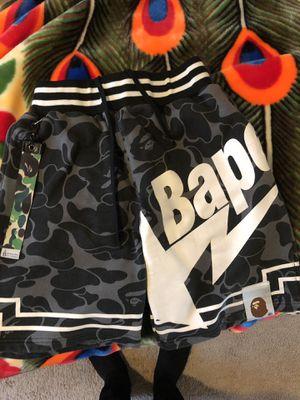 Bapesta bape shorts size M for Sale in Renton, WA