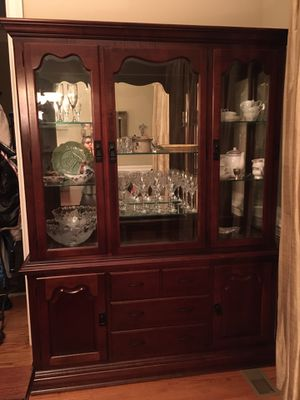 Thomasville cabinet and hutch for Sale in Chapel Hill, NC