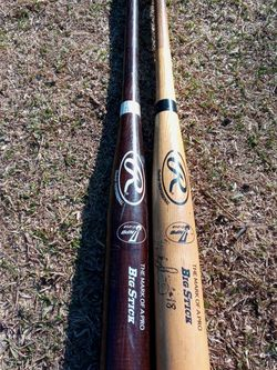 2 Rawlings Big Sticks Baseball Bats Wood Pro 34 Inch for Sale in Fullerton,  CA