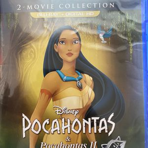 Pocahontas Double Feature (Blu Ray, 1995/1998) for Sale in Adelanto, CA