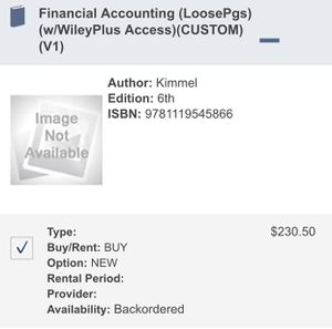 Financial Accounting 6th Edition for Sale in El Monte, CA