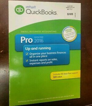 QuickBooks Desktop Pro Mac and Windows with License for Sale in Fort Lauderdale, FL