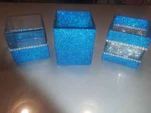 Glitter make up brush holder, craft for Sale in Phoenix, AZ