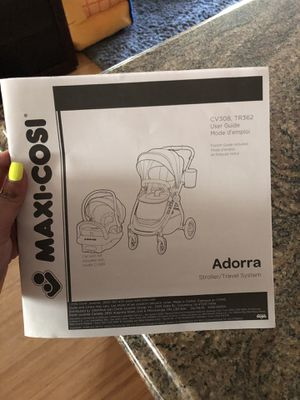 Maxi cosi stroller and infant car seat set for Sale in Chula Vista, CA