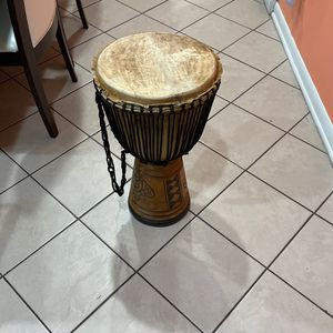 Handmade Drum 26 Inches Tall for Sale in Palos Park, IL