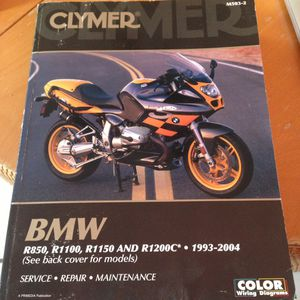 BMW motorcycle service book 1993-2004 Series R for Sale in Chevy Chase, MD