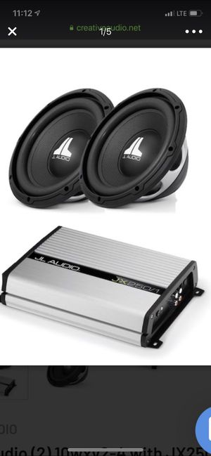 Speakers end amp JL audio for Sale in Chapel Hill, NC