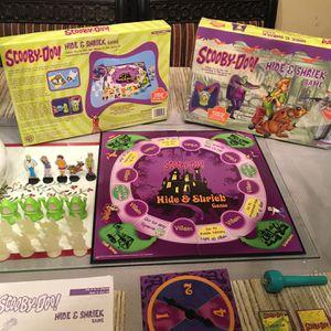 2003 Pressman Scooby Doo Hide & Shriek Board Game Light Up Monster Ghost for Sale in Murrieta, CA