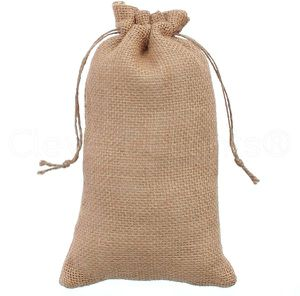 """Natural Burlap Bags Size 6""""x10"""" 48PK NEW! for Sale in Fresno, CA"""