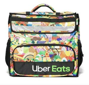 Uber Eats Delivery Insulated Backpack Limited Edition Artist Series Bag for Sale in Breinigsville, PA
